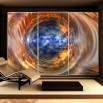 fototapeta oko - dekoracja na szafę