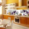 Tapeta storczyki do kuchni