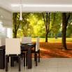 Fototapeta jesienne drzewo w aranżacji jadalni