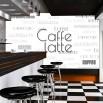 Fototapeta kawa do restauracji - napisy