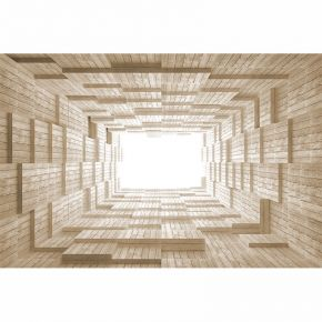 deski w tunelu