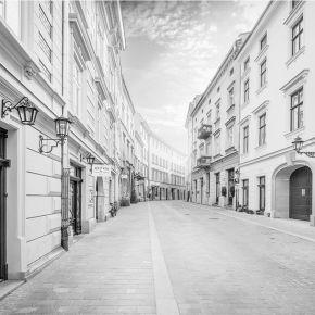 Fototapeta Krakowska uliczka o poranku